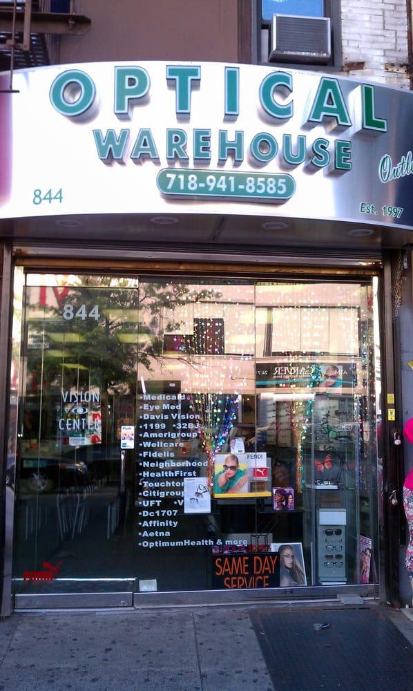 Optical Warehouse Outlet - Eyewear & Opticians - 844 Flatbush Ave ...