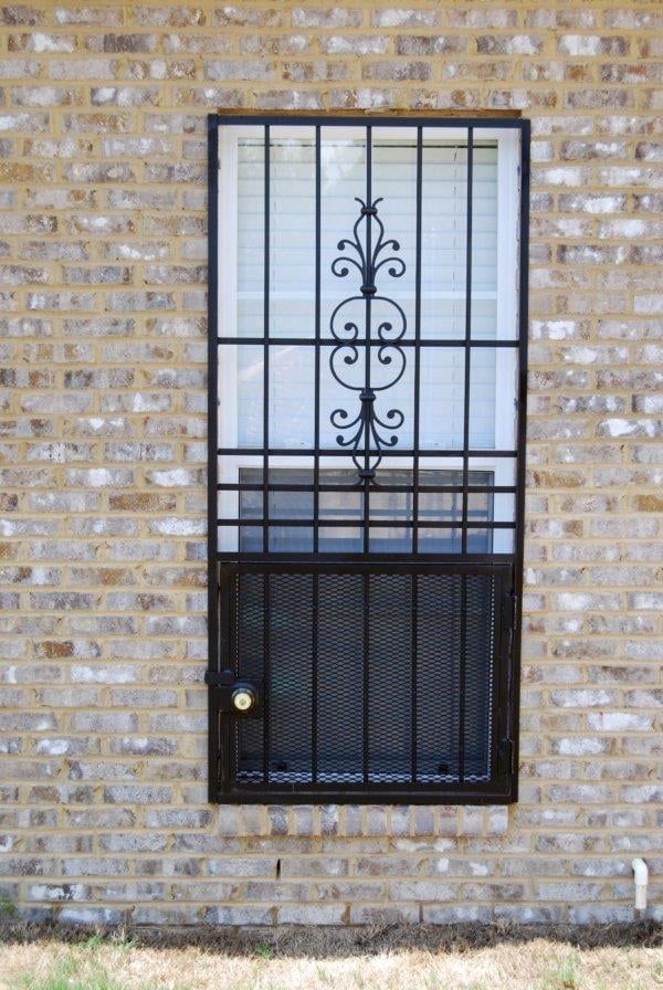 Fire Escape Window Bars With Security Screen Interior Or Exterior Yelp
