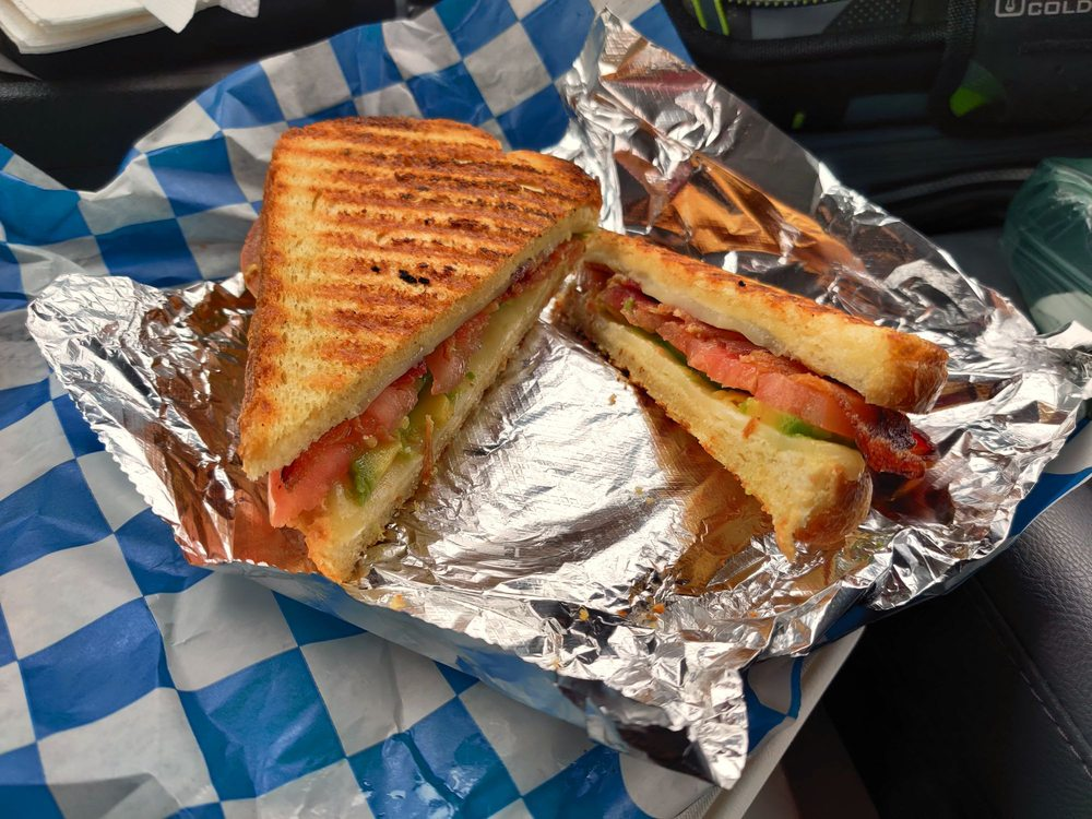 Food from Grilled Specialty Sandwiches