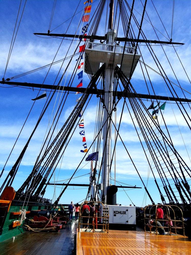 USS Constitution: 93 Chelsea St, Boston, MA