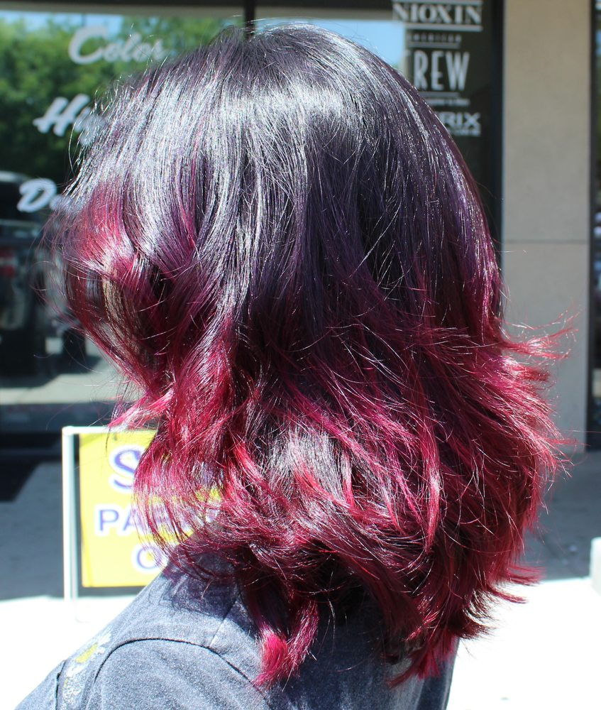 This color melt really has a great effect in the varying for Salon classique