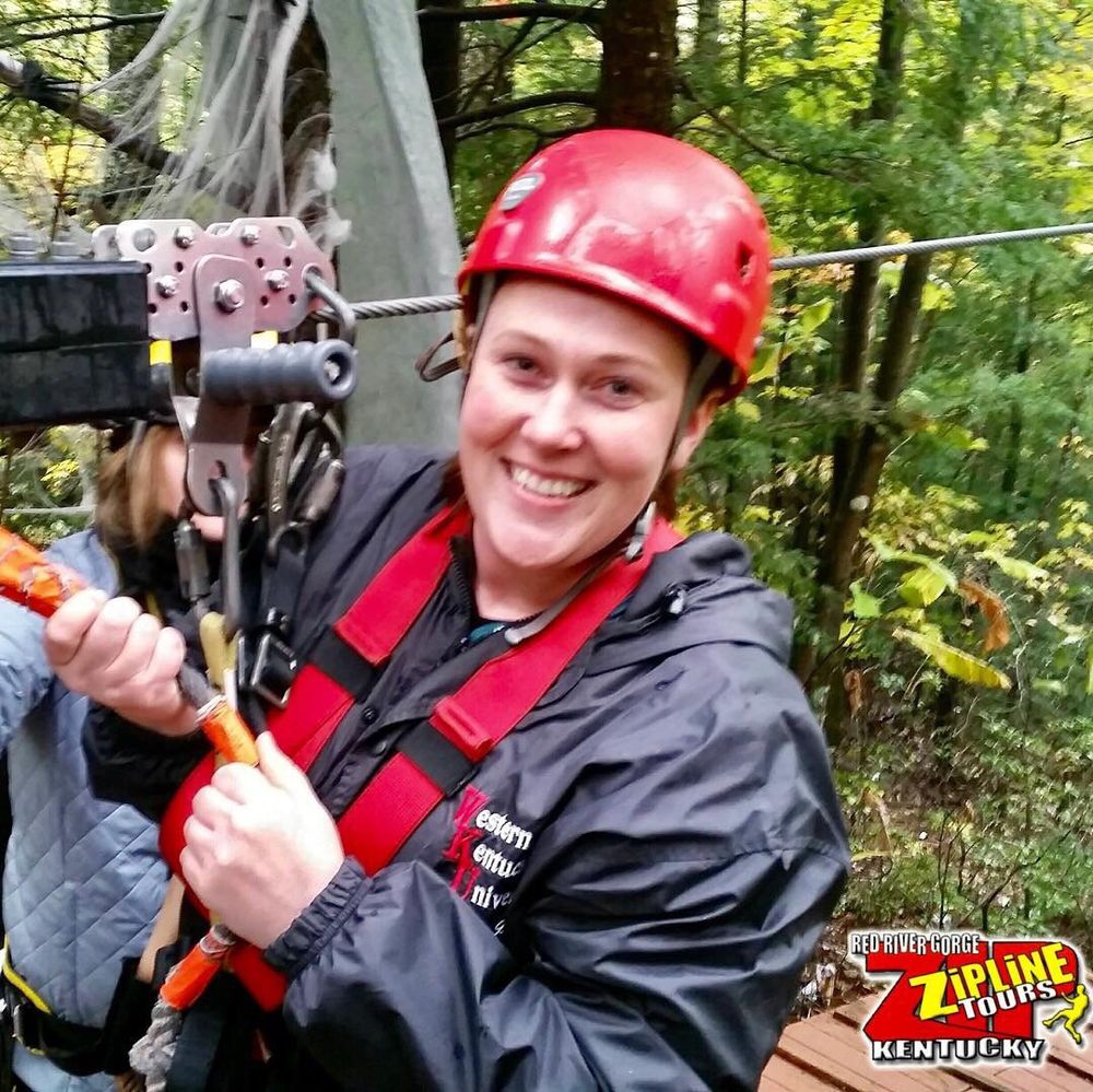 Red River Gorge Zipline: 400 Cliffview Rd, Campton, KY