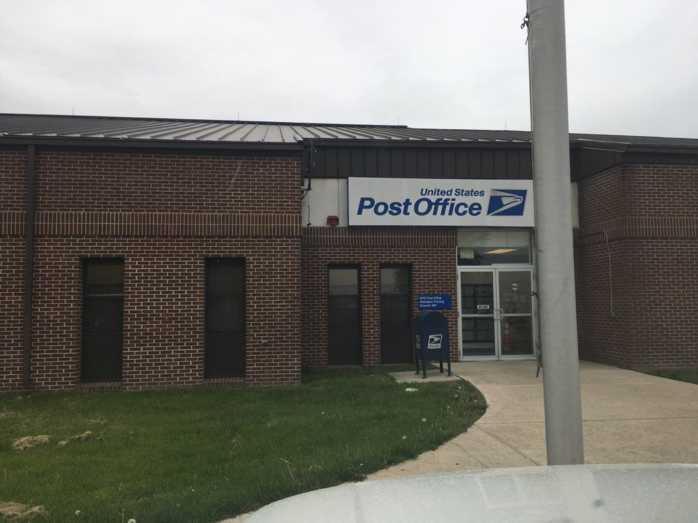 Post Office: 4510 Boothby Hill Ave, Aberdeen Proving Ground, MD