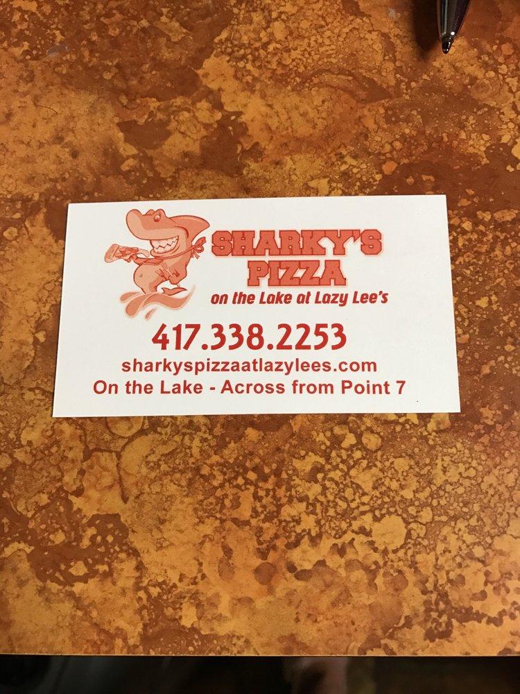 Sharkys Pizza: 49 Lazylee Ln, Reeds Spring, MO