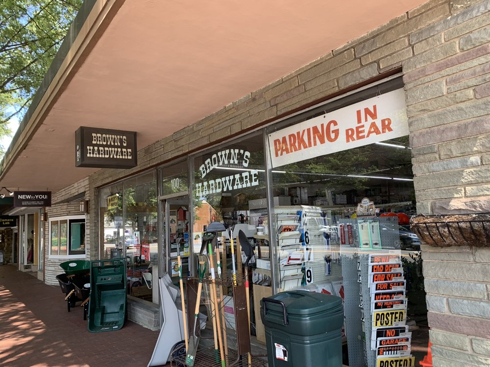Brown's Hardware: 100 W Broad St, Falls Church, VA