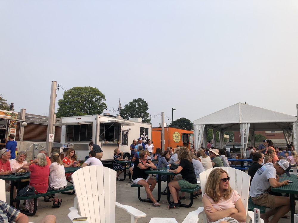 The Back Lot Beer Garden: 425 Michigan St, Petoskey, MI