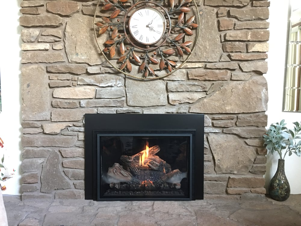 Haven installed Mendota gas fireplace insert. - Yelp