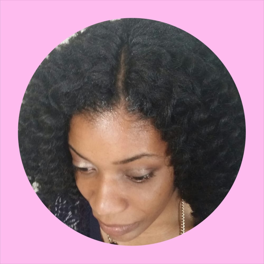 ... - Laurel, MD, United States. Crochet braids with an invisible part