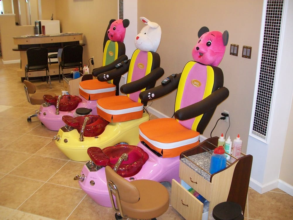 Excellent Nail Salon With Kid Chairs Portland Kids Gmtry Best Dining Table And Chair Ideas Images Gmtryco