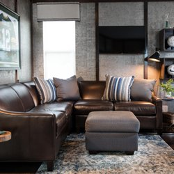 Incroyable Photo Of Woodbine Furniture   Keller, TX, United States. Leather And Fabric  Sofas
