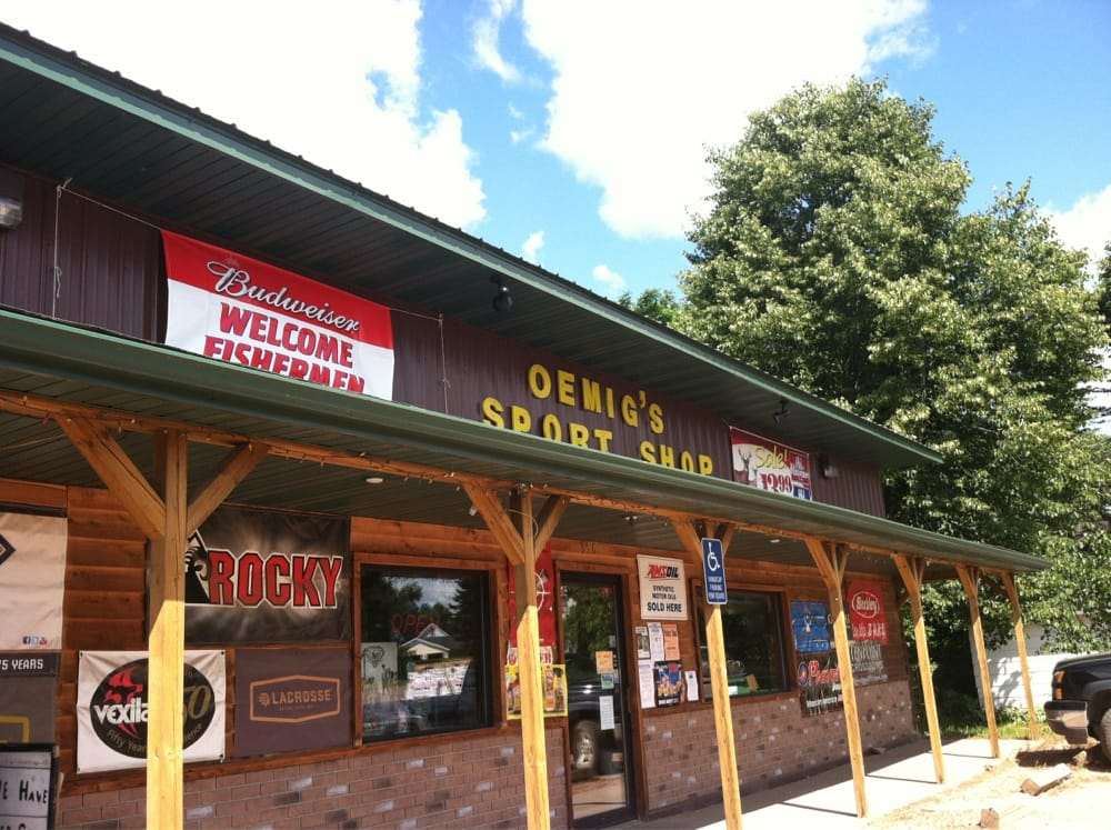 Oemig's Sport Shop: 356 S Broadway St, Stanley, WI
