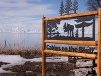 Cabins on the Bluff: Ninilchik, AK