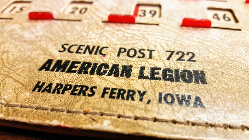 American Legion Post 722: 118 N 4th St, Harpers Ferry, IA