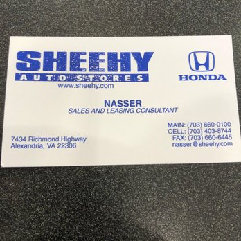 Photo Of Sheehy Honda Alexandria Va United States Solid Guy Doesn
