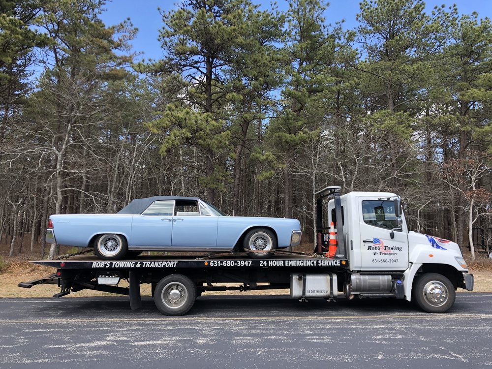 Towing business in East Hampton (Town), NY