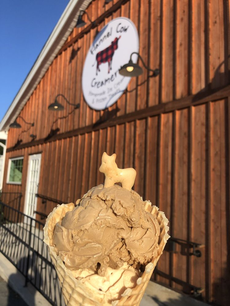 Flannel Cow Creamery: 88 Chilson Ave, Mansfield, MA