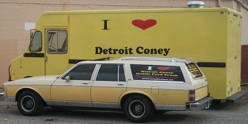 Detroit Coney Mobile Food Truck