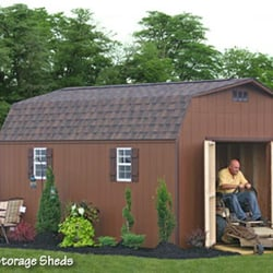 A Beautiful Backyard Poolhouse Photo Of Sheds Unlimited   Morgantown, PA,  United States. A 10x20 MaxiBarn Wooden