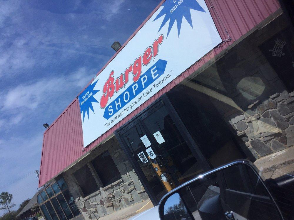 Burger Shoppe: 501 Hwy 70 E, Kingston, OK