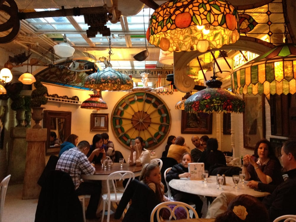 The eclectic inside of Serendipity 3, well the downstairs ...