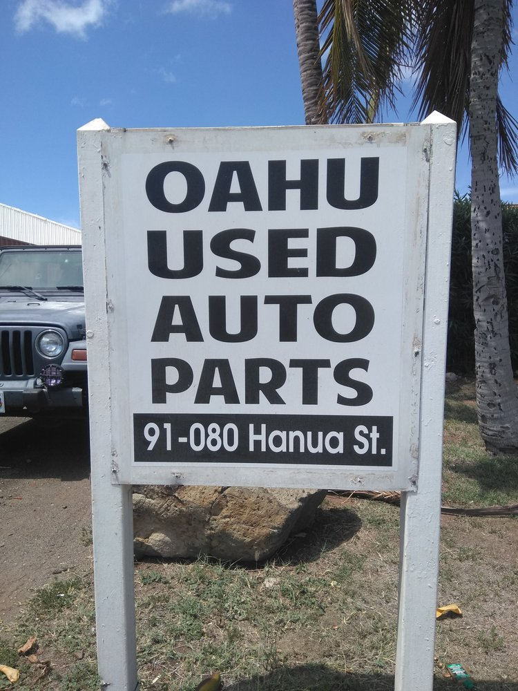 Oahu Used Auto Parts Recycling Center 91 80 Hanua St Kapolei Hi Phone Number Yelp