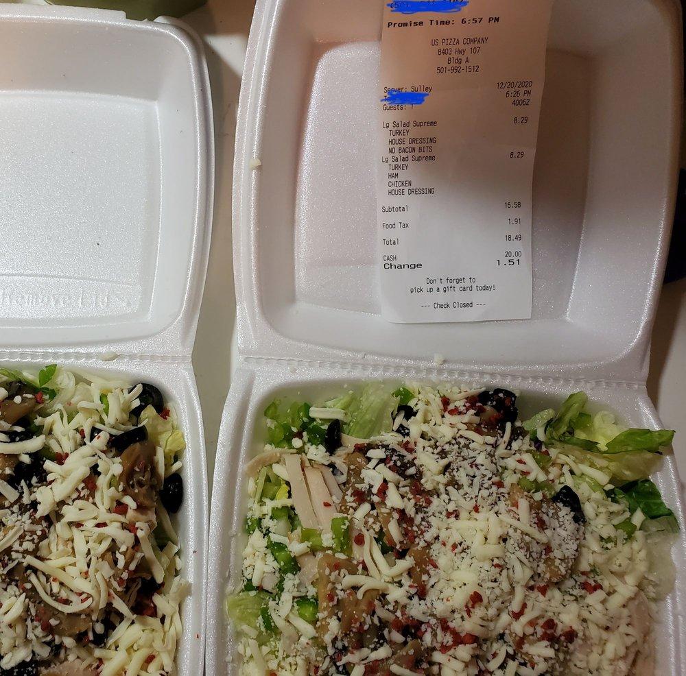 US Pizza Co -Little Rock: 5224 Kavanaugh, Little Rock, AR