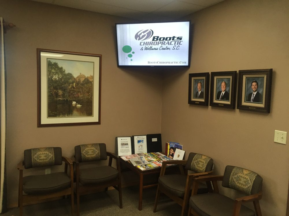 Boots Chiropractic & Wellness Center, SC: 1020 Truman St, Kimberly, WI