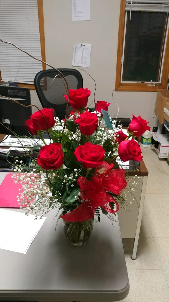 Just Because Flowers & Gifts: 1180 E Lincoln St, Riverton, IL