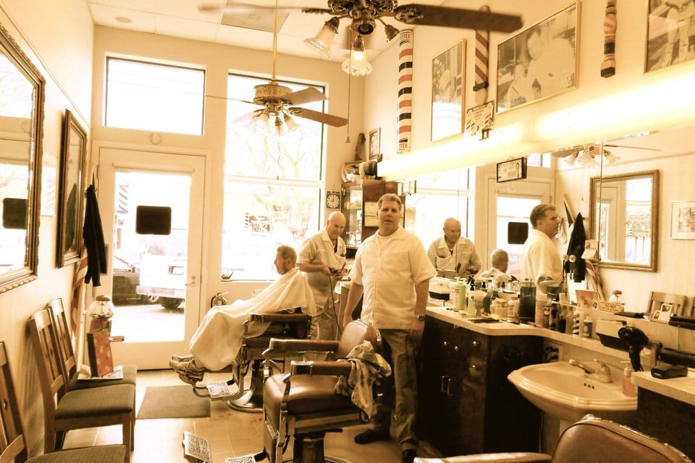 Newly built, old-fashioned barbershop. - Yelp