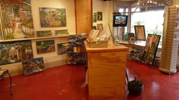 Jill Louise Campbell Art Gallery Salt Spring Island Bc