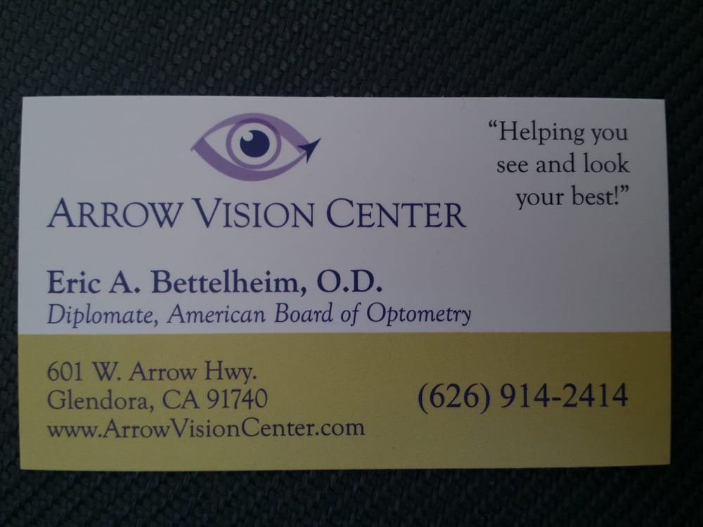 Arrow Vision Center >> Photos For Arrow Vision Center Optometry Yelp