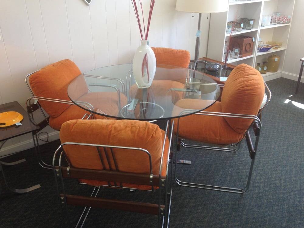 Photo Of Retrofurn Baltimore Md United States 1970s Chrome And Gl Round