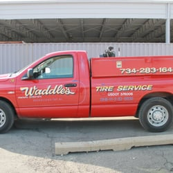 Photo Of Waddle S Tire Service Brownstown Mi United States One Our