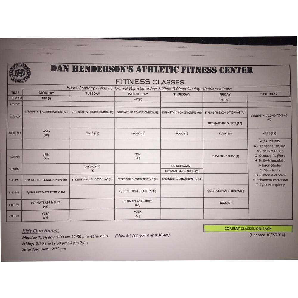 Dan Henderson's Athletic Fitness Center