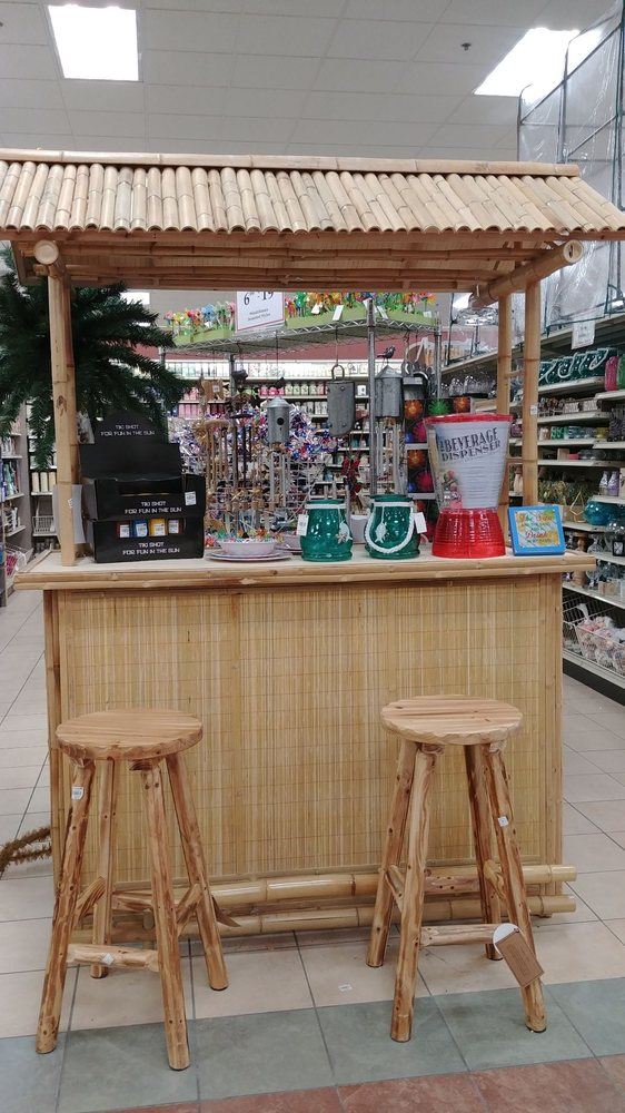 Photo of Christmas Tree Shop - Allentown, PA, United States. Tiki bar  display - Tiki Bar Display - Yelp