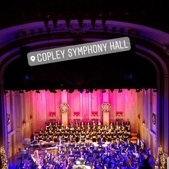 Photo Of Copley Symphony Hall San Go Ca United States Holiday Performance