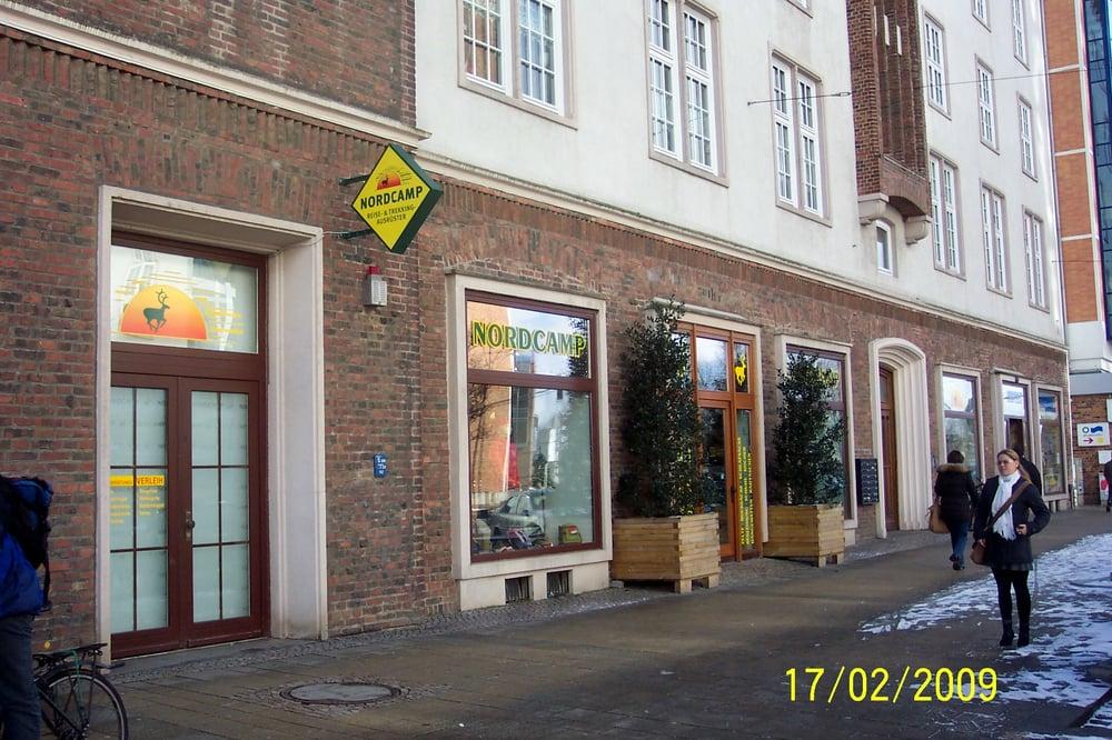 Kletterausrüstung Rostock : Nordcamp sportbekleidung lange str rostock mecklenburg