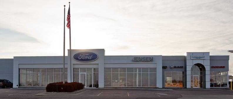 Jensen Le Mars Ford Chrysler: 1258 Lincoln St SW, Le Mars, IA