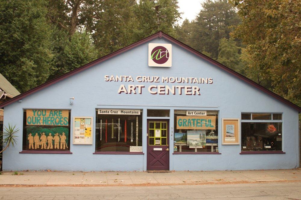 Santa Cruz Mountains Art Center: 9341 Mill St, Ben Lomond, CA