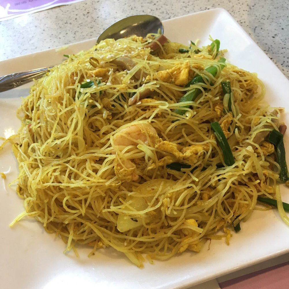My favorite noodles -- Singapore style fried rice noodle! - Yelp