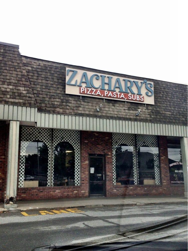Zachary's Pizza: 197 Rt 7 S, Milton, VT