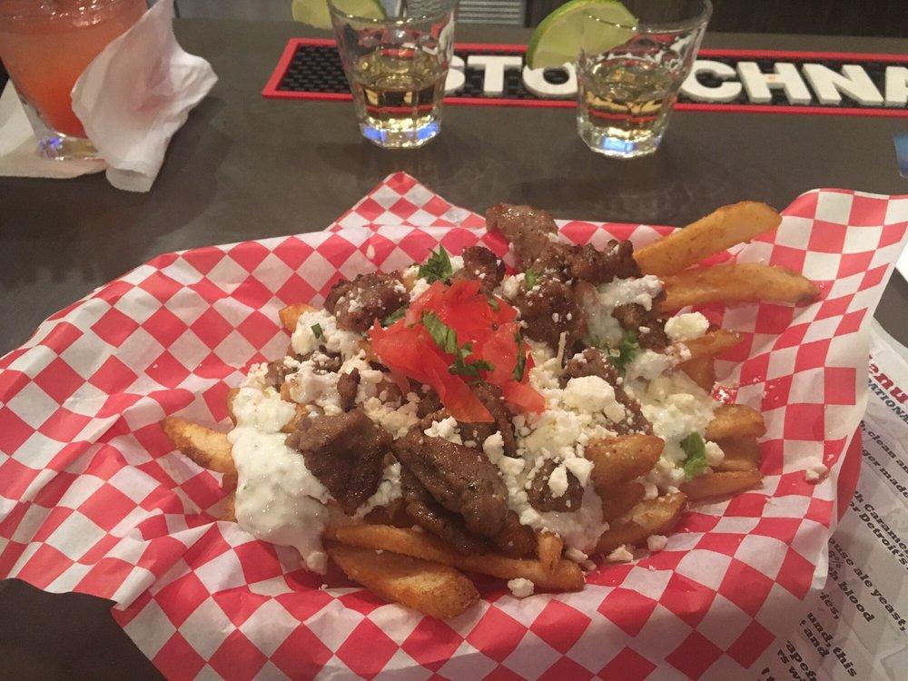 Greektown fries yum! - Yelp
