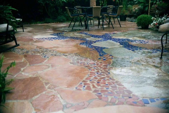 Photo Of Expanding Horizons   Vista, CA, United States. Artistic Flagstone  Patio With