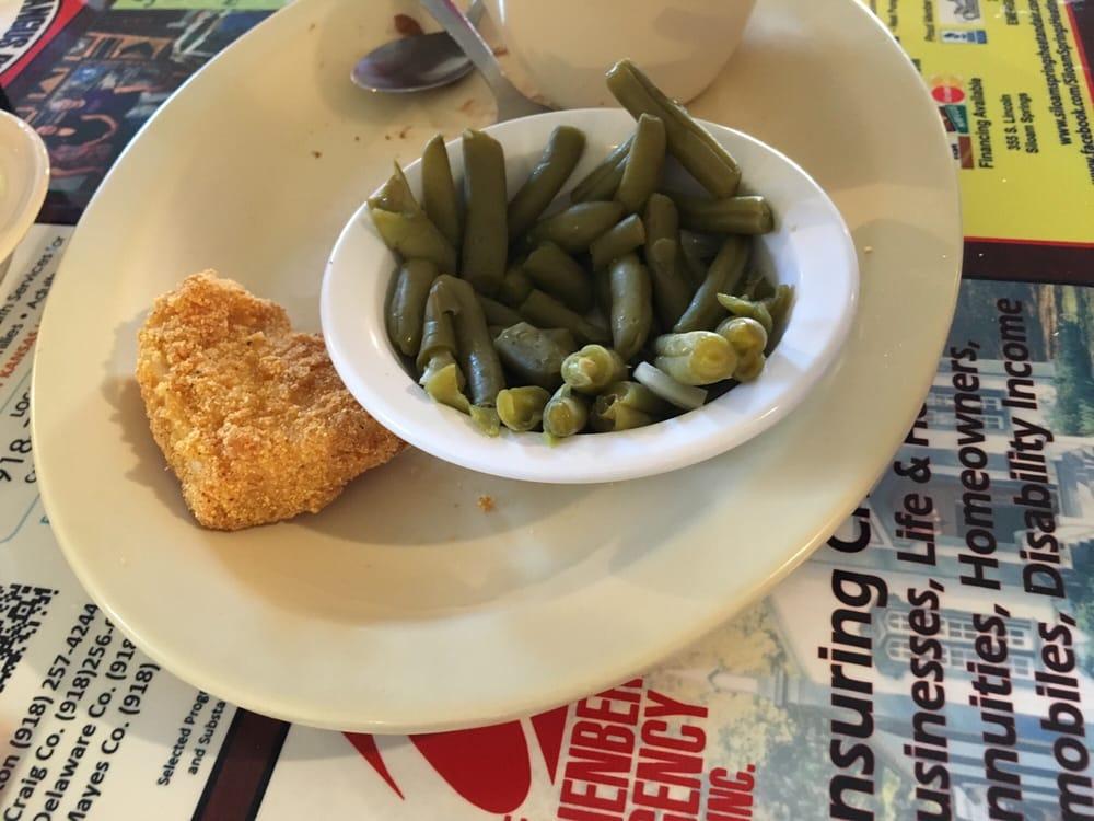 Harvest House Restaurant: 121 E Tulsa Ave, Kansas, OK
