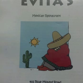 Evita S Mexican Restaurant Menu