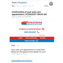 Firestone Complete Auto Care 18 Reviews Tires 1765 N Columbia