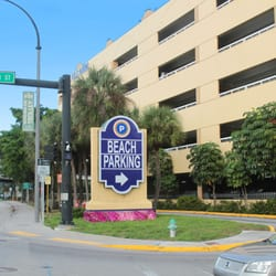 Photo Of Hollywood Beach Garage Fl United States Entrance From Harrison
