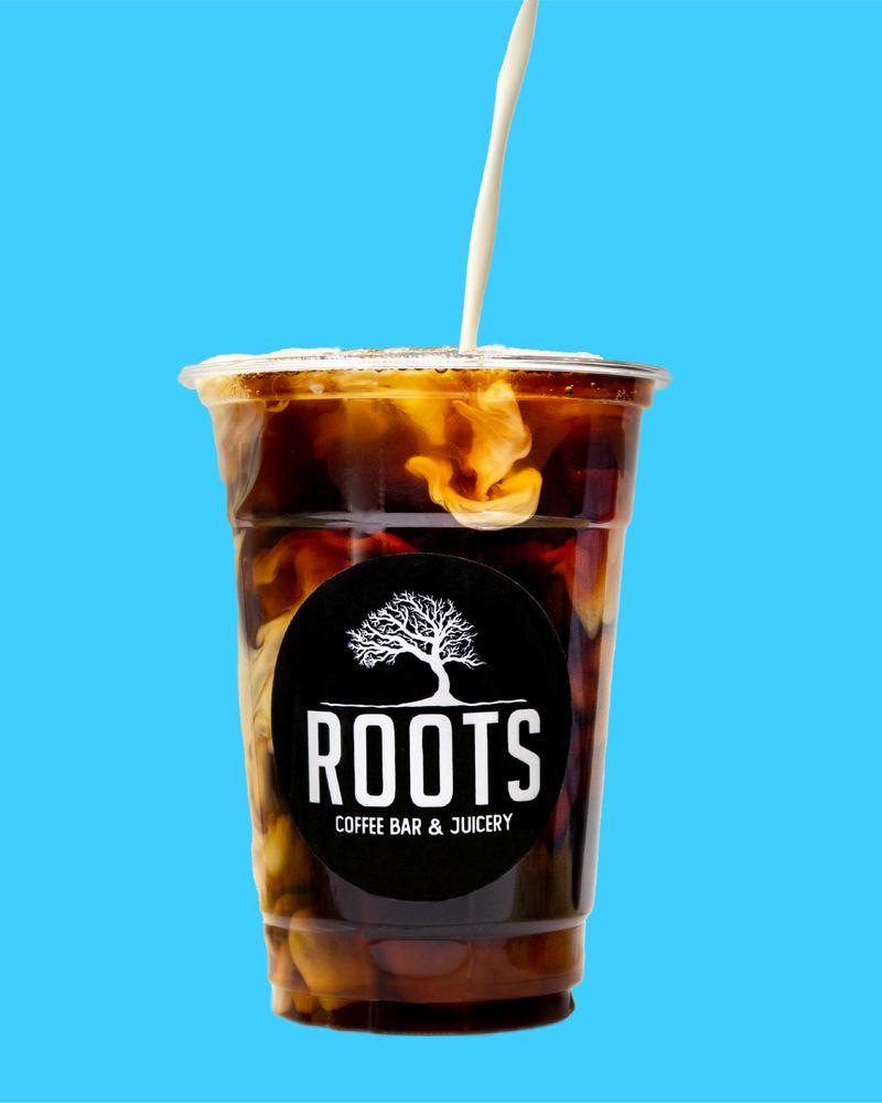 Roots Coffee Bar & Juicery: 2975 E Ocotillo Rd, Chandler, AZ