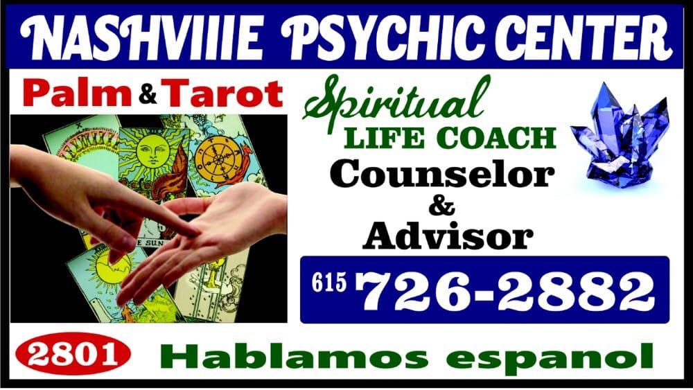 Nashville Psychic Center: 2801 Nolensville Pike, Nashville, TN