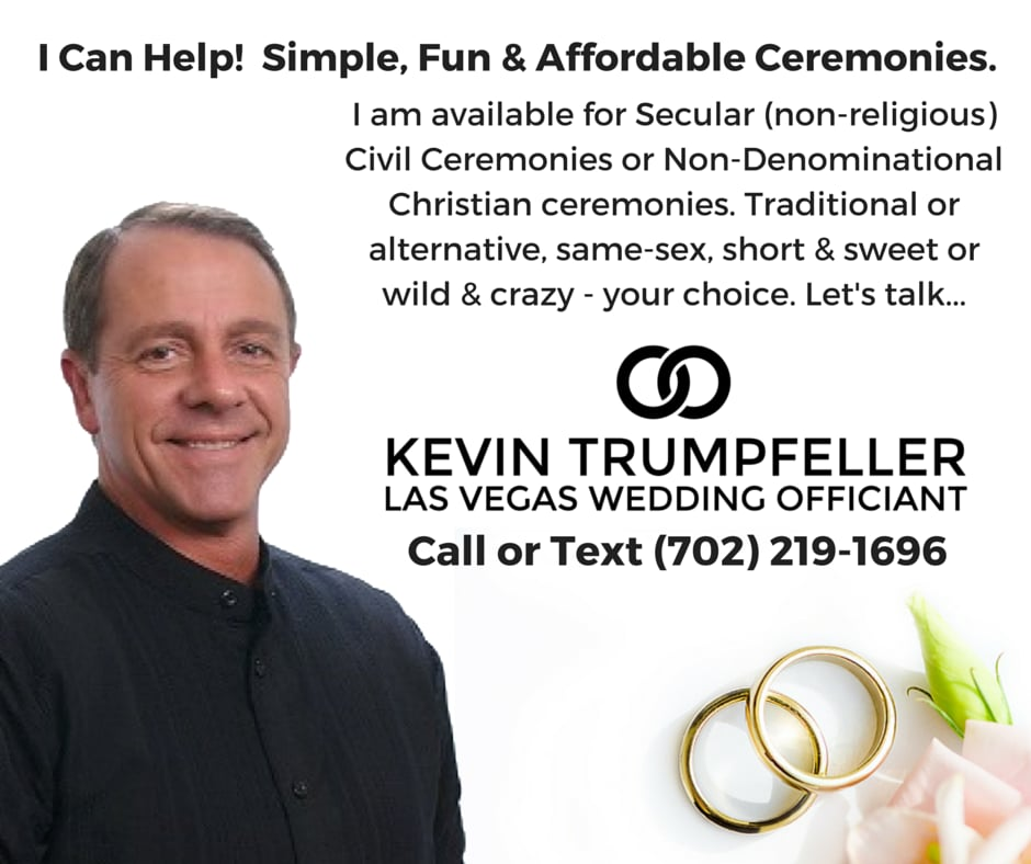 Kevin Trumpfeller Wedding Coach Redner Offizianten